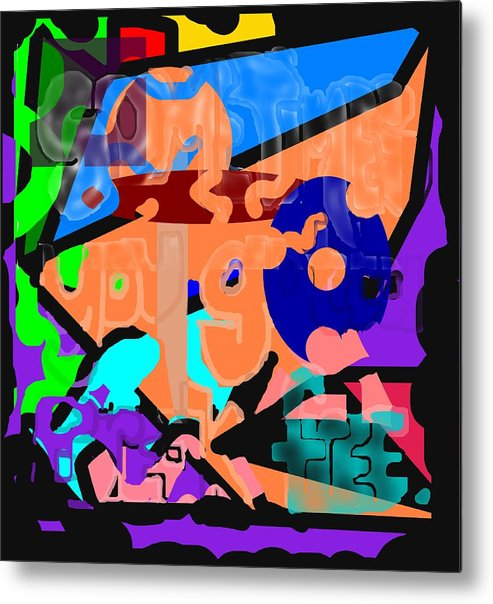 Free Metal Print featuring the digital art Break Free by Pharris Art