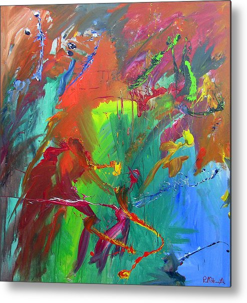 Acrylic Metal Print featuring the painting Tropical Dreams by Paul Harrington