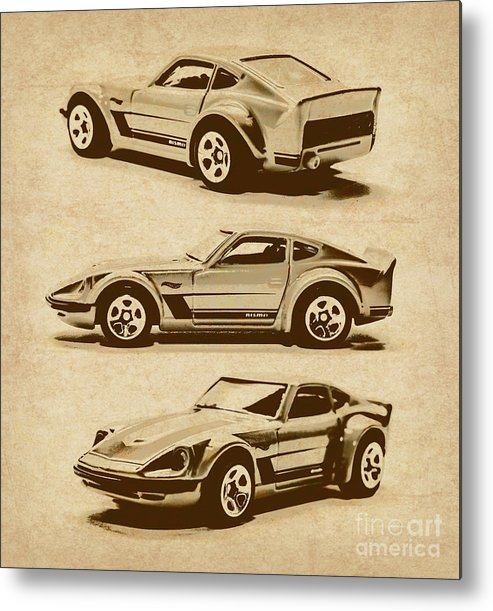 Nissan Metal Print featuring the photograph My Fairlady by Jorgo Photography - Wall Art Gallery
