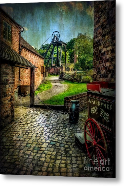 Victorian Metal Print featuring the photograph Old Mine by Adrian Evans