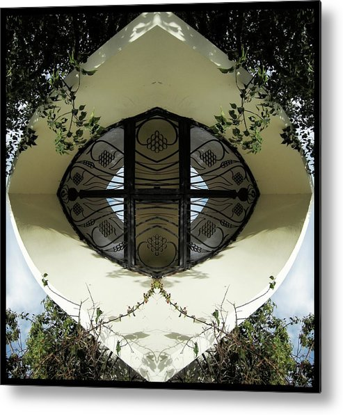 Abstract Metal Print featuring the photograph Sanctuary by Rachel Dunn
