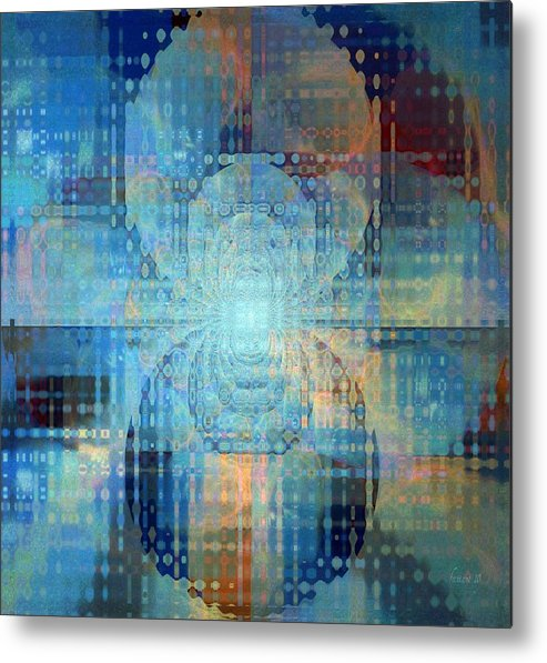 Faniart Metal Print featuring the mixed media Archaic Imagination by Fania Simon