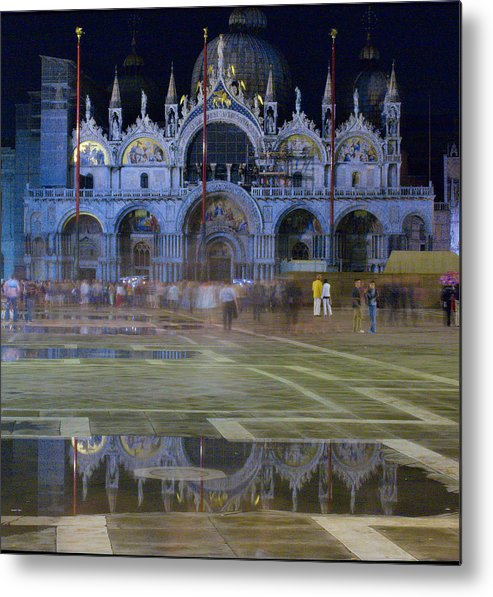 Venice Metal Print featuring the photograph St. Mark's by Michael Henderson
