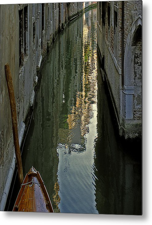 Metal Print featuring the photograph Venice 3 by Victor Yekelchik