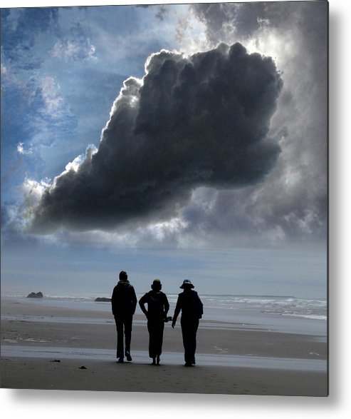 People Metal Print featuring the photograph 2922 by Peter Holme III