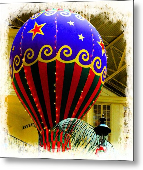 Hot Metal Print featuring the photograph Hot Air Balloon by Kathleen Struckle