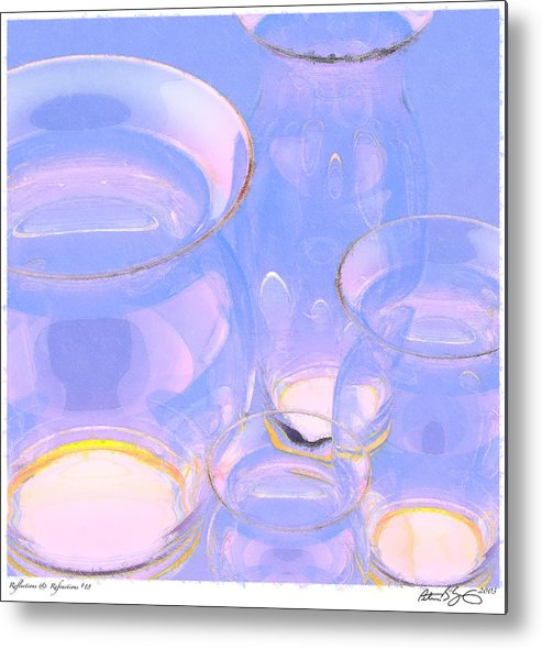 Abstract Metal Print featuring the photograph Abstract Number 18 by Peter J Sucy