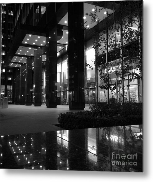 Architecture Metal Print featuring the photograph Historic Seagram Building - New York City by Miriam Danar