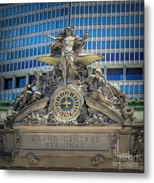 Grand Central Terminal Metal Print featuring the photograph Mercury At Grand Central Terminal by Susan Lafleur