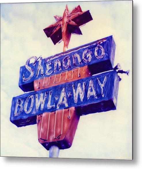 Nostalgia Metal Print featuring the photograph Shenango Bowl-a-way by Steven Godfrey