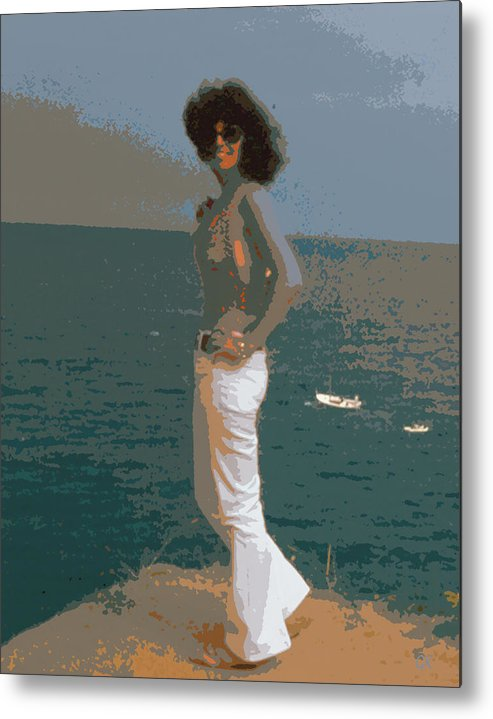Portrait Metal Print featuring the photograph Isabella by Gerlinde Keating - Galleria GK Keating Associates Inc