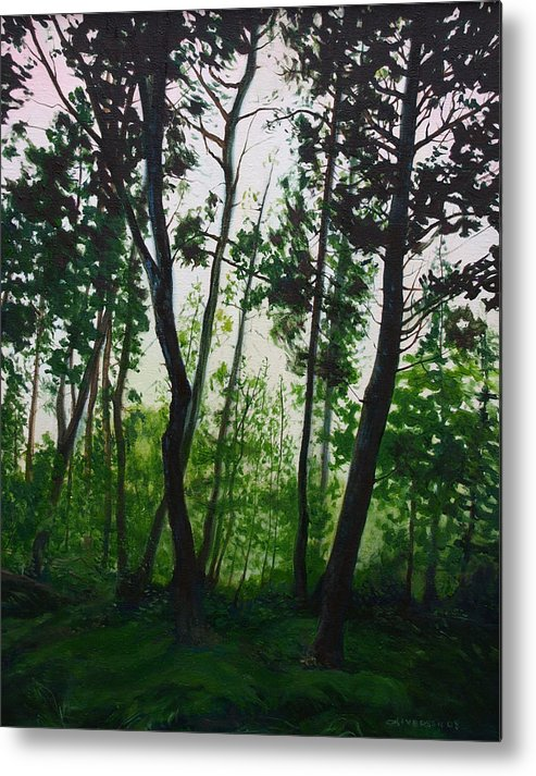 Fen Metal Print featuring the painting The Fen by Jill Iversen