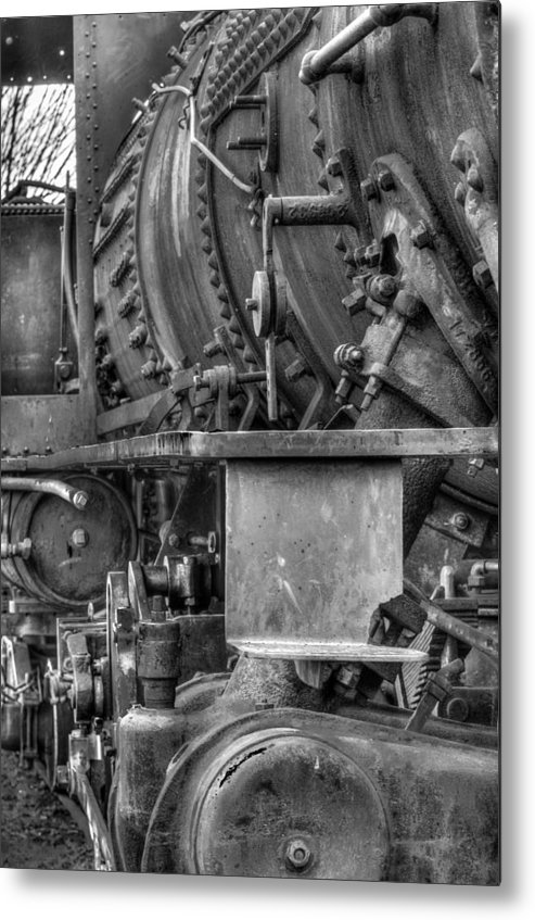2-8-2 Metal Print featuring the photograph Comox Logging Engine No.11 by R J Ruppenthal