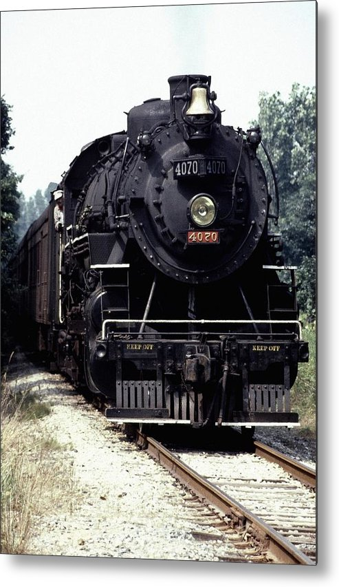 Train Metal Print featuring the photograph 030907-54 by Mike Davis