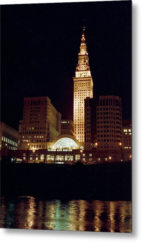 Cleveland Metal Print featuring the photograph 070506-73 by Mike Davis