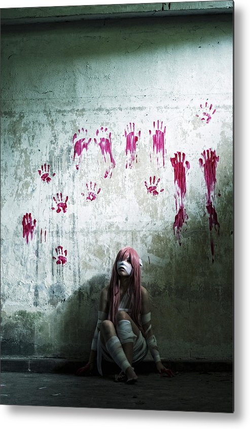 Abandoned Metal Print featuring the photograph Elfen Lied - 2nd by Thomas Kuan