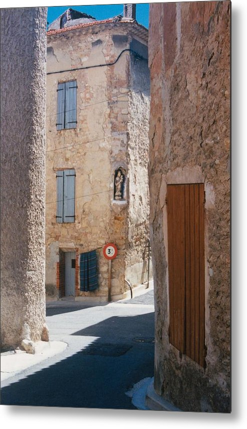 Provence France Metal Print featuring the photograph Beaumes De Venise by Gary Peterson