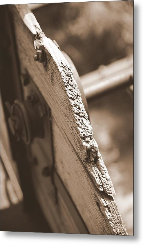 Old Metal Print featuring the photograph Carriage by Caroline Clark
