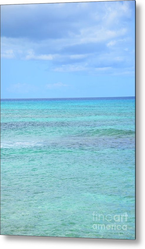 Ocean Metal Print featuring the photograph Clouds Approaching by Kimberly Hood