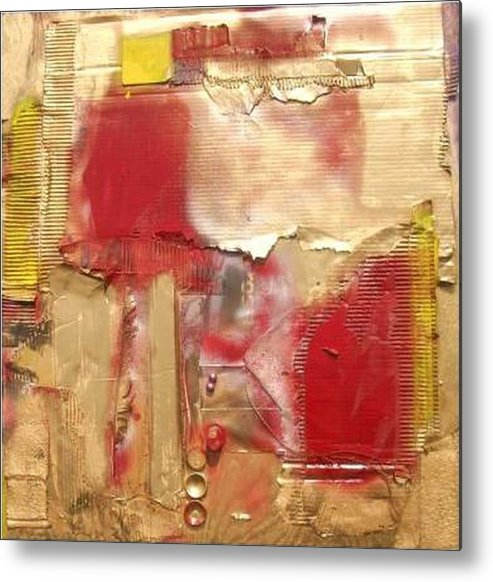 Mixed Media Metal Print featuring the mixed media ...............................assemblage by Wiola Anyz