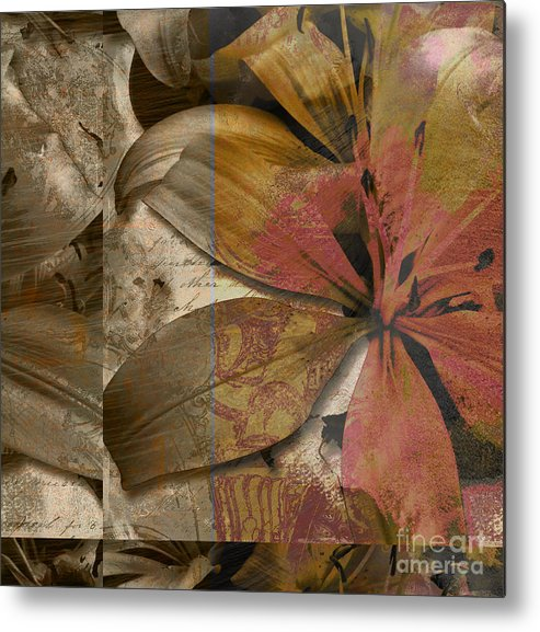Metal Print featuring the mixed media Alexia Iv by Yanni Theodorou