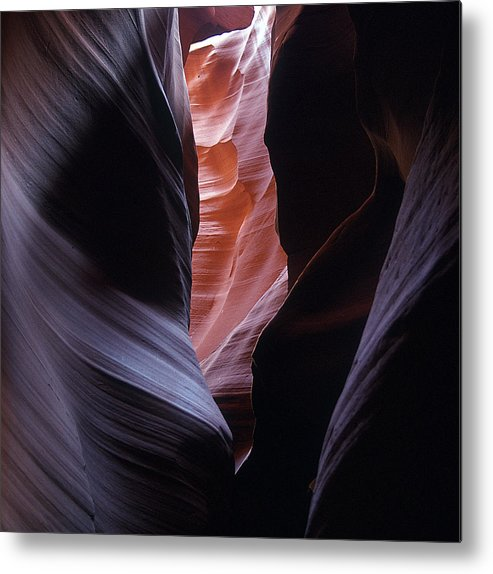 Landscapes Metal Print featuring the photograph Antelope Canyon 5 by Jeff Brunton