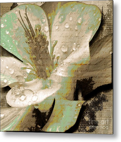 Metal Print featuring the mixed media Beauty Vi by Yanni Theodorou