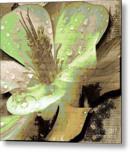 Metal Print featuring the mixed media Beauty Viii by Yanni Theodorou