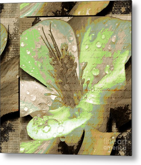 Metal Print featuring the mixed media Beauty X by Yanni Theodorou