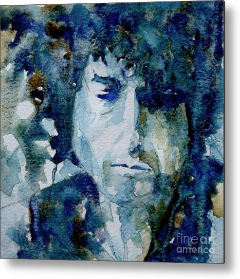 Icon Metal Print featuring the painting Dylan by Paul Lovering