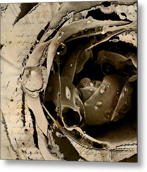 Metal Print featuring the mixed media Life V by Yanni Theodorou