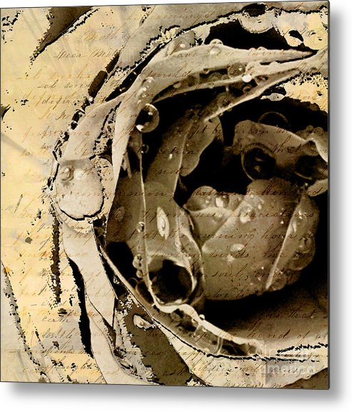 Metal Print featuring the mixed media Life Vi by Yanni Theodorou