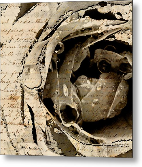 Metal Print featuring the mixed media Life Vii by Yanni Theodorou
