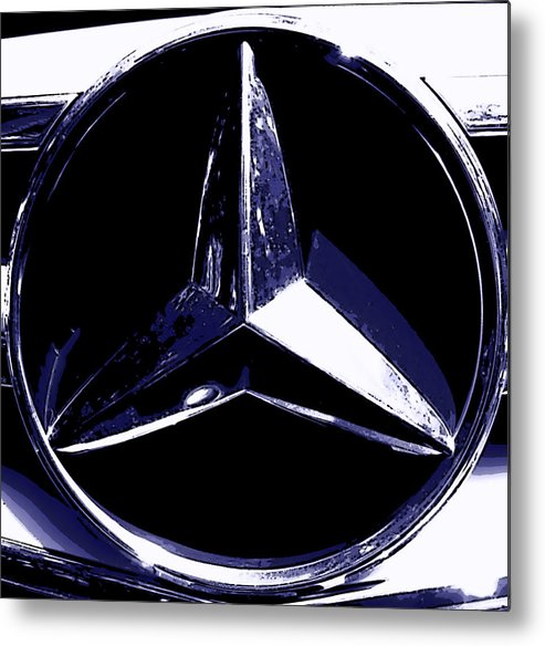 Mercedes Benz Metal Print featuring the photograph Mercedes by J Anthony