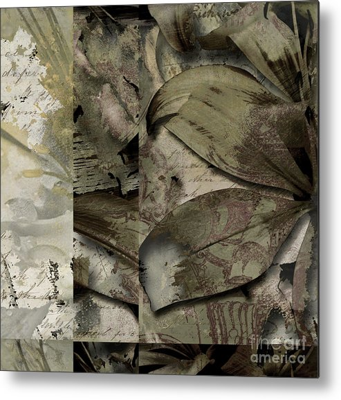 Metal Print featuring the mixed media Peace IIi by Yanni Theodorou
