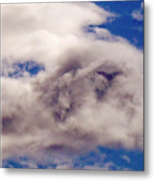 Prophet Metal Print featuring the photograph Phophet Coming Through The Clouds by Jan Wendt