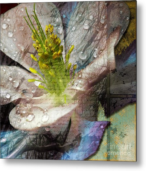 Metal Print featuring the mixed media Pop IIi by Yanni Theodorou