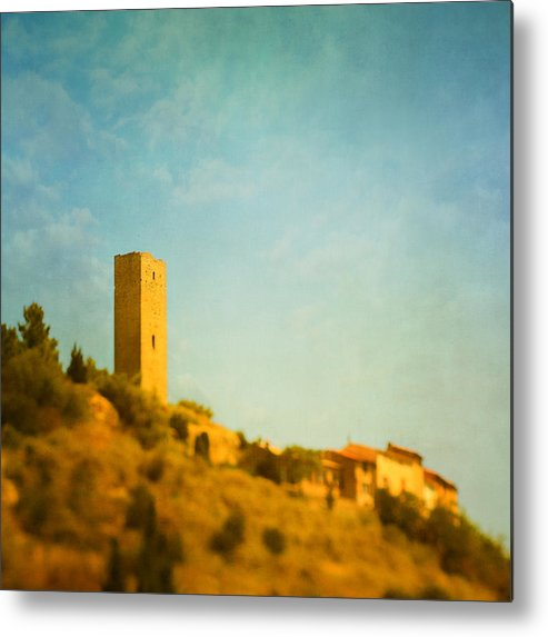 Vertical Metal Print featuring the photograph Montady Tour Aka by Paul Grand Image