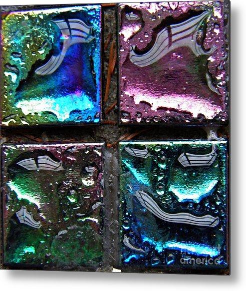 Mosaic 15 Metal Print featuring the photograph Mosaic 15 by Sarah Loft
