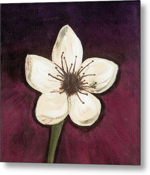 Mum Metal Print featuring the painting Please Forget Me by Starla Rodriguez