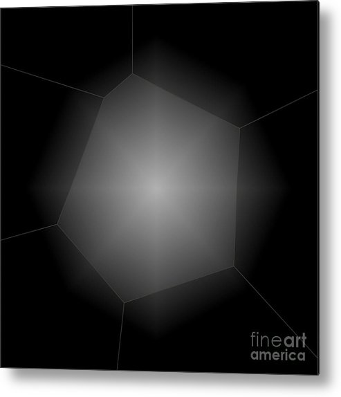 Abstract Metal Print featuring the photograph Radiance - Abstract Art by Carol Groenen