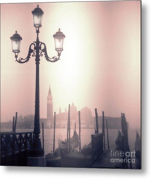 San Marco Metal Print featuring the photograph San Giorgio Maggiore Seen From Venice by Janeen Wassink Searles