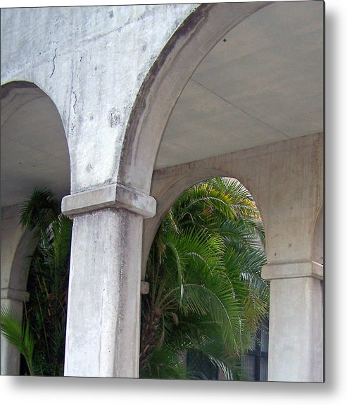 Arch Metal Print featuring the photograph St. Augustine Vestibule by Patricia Taylor