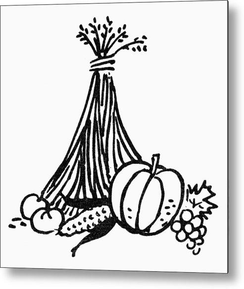 Abundance Metal Print featuring the photograph Symbol: Thanksgiving by Granger