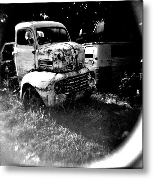 Holga Metal Print featuring the photograph Towmater by Tom Gent