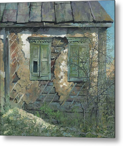 Ukraine Metal Print featuring the painting 2010 Spring Motif by Denis Chernov