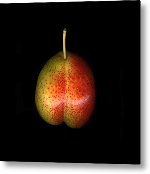 Cuisine Metal Print featuring the photograph Cosmic Pear by Christian Slanec