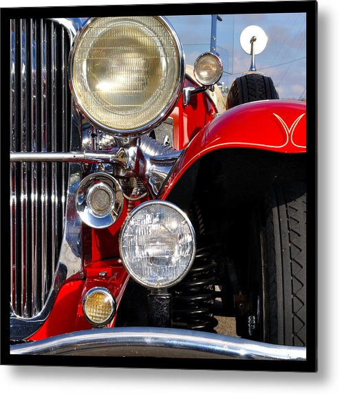Car Metal Print featuring the photograph Duesenberg by Tim Nyberg