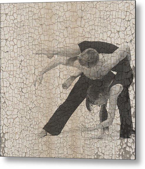 Dancer Metal Print featuring the digital art Forgotten Romance by Naxart Studio