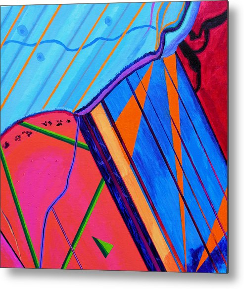 Abstract Metal Print featuring the painting Inspire Vii by Stan Hamilton